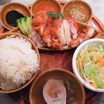 シンガポール海南鶏飯 - ハーフ&ハーフのセット(950)