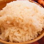 シンガポール海南鶏飯 - チキンスープで炊いた長粒米がウマい