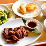 モンゴルホト - チャンスンマハ定食980円