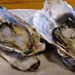 旬海 - 旬海 @松島海岸 牡蠣御膳 軽く蒸された牡蠣