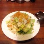 摂津 - じゃこサラダ