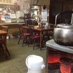 永井食堂 - 店内。