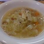 22535735 - 野菜たっぷりスープ