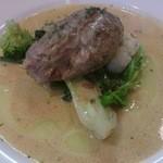 22535741 - ポークほっぺた肉の軽い煮込み