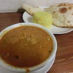 インドカリーハウス サイキルパ - チキン&ダルカレー