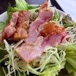 中国料理 「望海楼」 - ローストチキンサラダ様にしてみました♪
