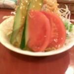 ひげ - サラダ