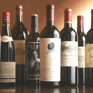 フランスワインを中心にリーズナブルな価格で提供いたします!