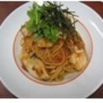 スパゲッティ食堂ドナ - ≪和テイスト≫スズキと焼き葱のトマト味噌ソース