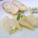 カルペディエム - チーズの三点盛
