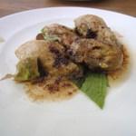 カルペディエム - 牡蠣のソテー焦がしバターソース