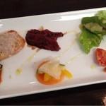 BISTORIA - Bランチの前菜