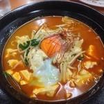 餃子の王将 - 料理写真:スゥンドゥブチゲ様単品で〜す♪