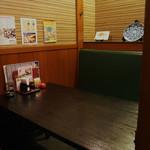 鳥太郎 - 4名様までOKの半個室タイプのテーブル席