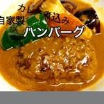 癒酒屋 富 - 自家製ハンバーグカレー煮込み 700円 (ランチはごはんと汁付き)