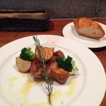 シュクレ・ド・アリガット - 料理写真:【ランチ】B:チキンソテーのローズマリー風味