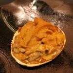 みや - 25年11月 香箱蟹袱紗焼き 北海道根室産雲丹、椎茸入り