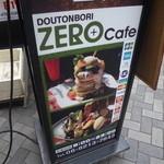 22547927 - お店の看板も、ZEROパンケーキが売りかな