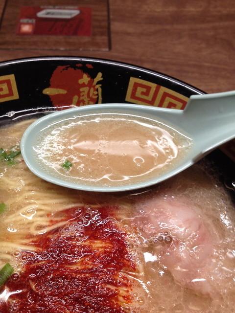 一蘭 道頓堀店本館 - 超こってりスープ