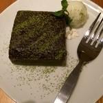 カプリカフェ - 抹茶のブラウニー