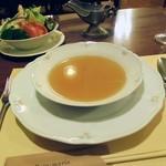 バンマリー - コンソメスープ。