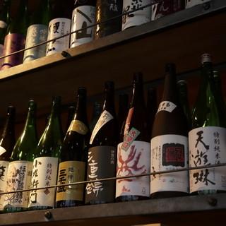 東海3県の日本酒から全国各地までの日本酒35種類以上!!