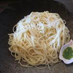 ゆずごしょうつけ麺屋 - 料理写真:ゆずごしょうつけ麺1000円(麺)