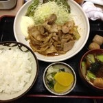 磯や - 豚生姜焼き定食