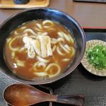 いし原 - 蕎麦やうどんもあるので、メニュー的には組み合わせ可能なカレーうどん650円。