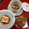 古梅荘 - 料理写真:先付け3種。