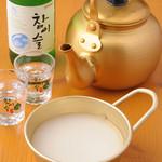 ホンガネ - 女性が飲みやすい韓国のお酒も豊富に揃っています