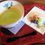 2256093 - お抹茶(甘味付)500円