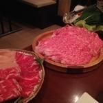小尾羊 - お肉とお野菜