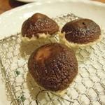 天ぷら処 夢風 - 椎茸