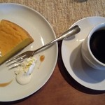 ヤノ ケーキ テン カフェ ソワサント カフェロクマル -