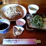 瀧茶屋 - つけめんそばセット①(しょうゆつゆ)(2013/5)