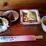 瀧茶屋 - つけめんそばセット②(2013/5)
