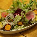 テテス - たっぷり野菜のグリーンサラダ(テラ)