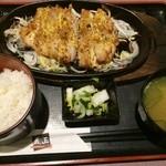 22564671 - チキングリル定食(680円)