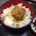 桃太楼 - 白ご飯にはカレー出汁!
