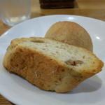 サニーカフェ - 全粒粉(ぜんりゅうふん)のパン
