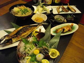 烏丸元気市場 - 小浜漁港直送鮮魚食べつくしコース