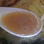 麺屋秀虎 - スープです