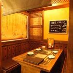 韓のかおり家 - 4名様 個室、落ち着いた雰囲気で食事が出来ます