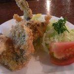 竹泉 - 鮎のフライ