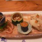 はっとり - 料理写真:前菜5種