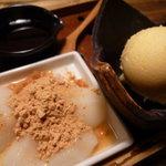 まさや - ☆黒蜜きな粉モチアイス(●^o^●)☆