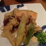 風柳 - 野菜天盛り合わせ