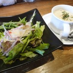 BAR Swallowtail - ランチ サラダ・スープ