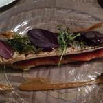 22572444 - 秋刀魚と秋ナスとセミドライトトマトのマリネ